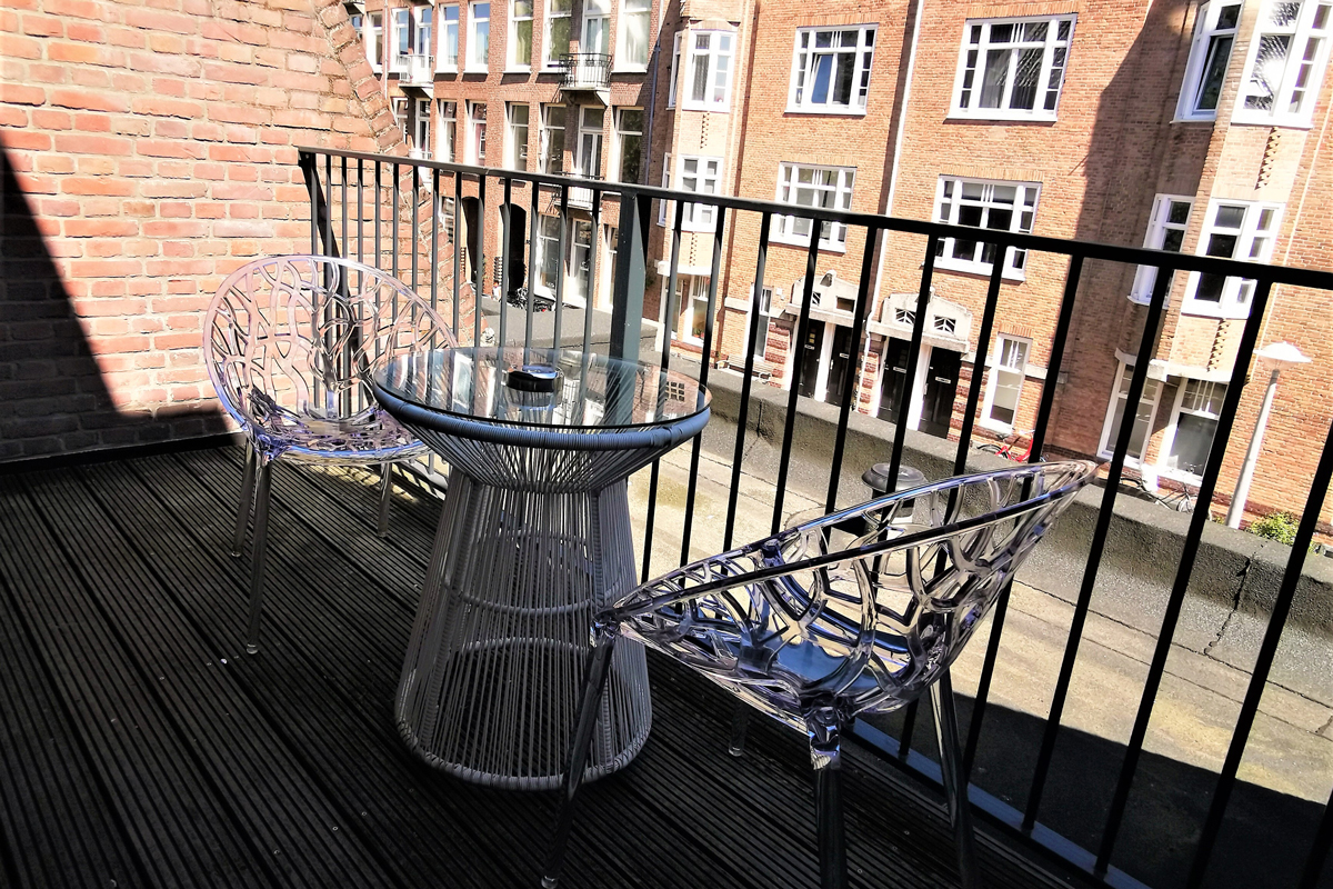 Superior Double Room Balcony Chassé Hotel Amsterdam