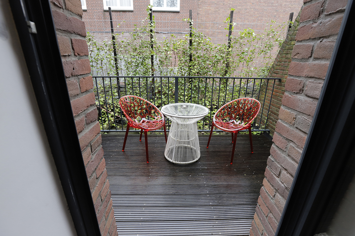 Chassé Hotel Amsterdam Superior Double and Superior Twin picture of balcony